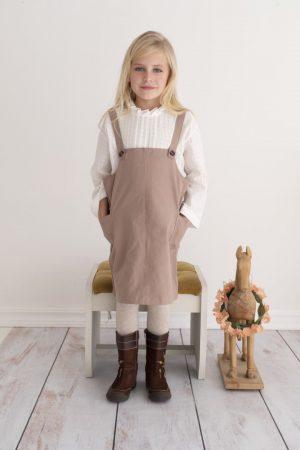 Punanki Kids Clothing Girls Vintage Embroidered Blouse
