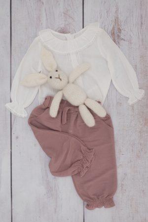 Punanki Kids Clothing Girls Little Lucy Lace Blouse