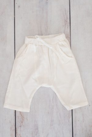 Linen Girls Shorts