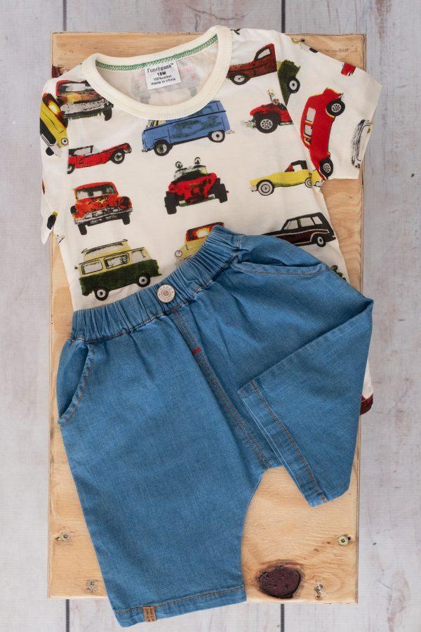 Punanki Kids Clothing All Denim Shorts