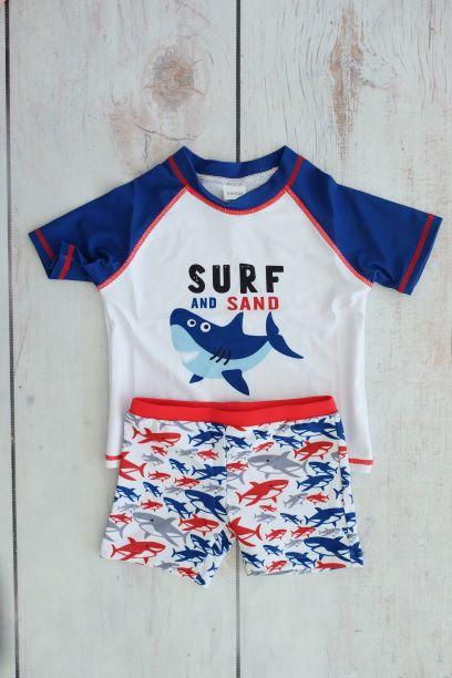 Punanki Kids Clothing All Sharky Boys Swimwear