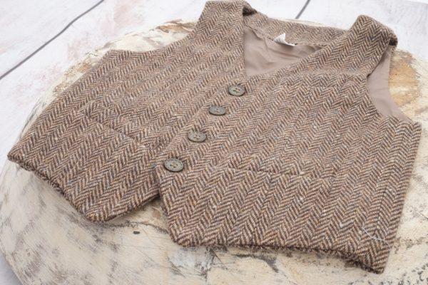 Punanki Kids Clothing All Boys Waistcoat