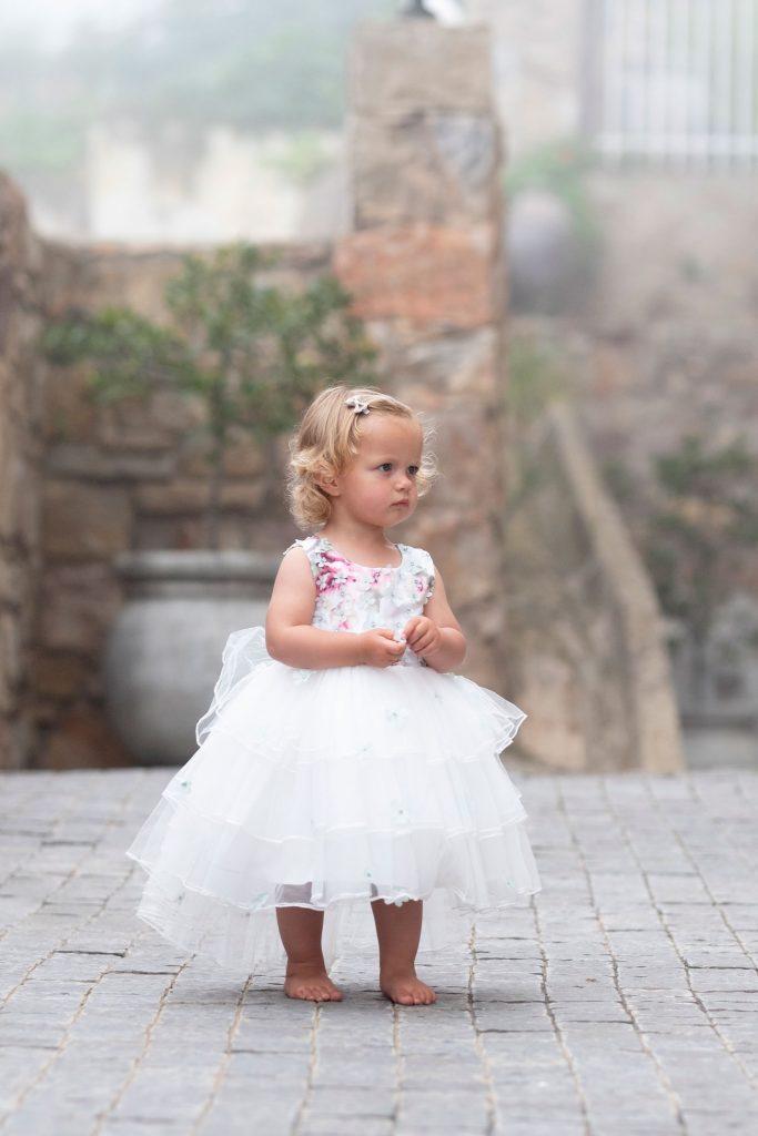 Punanki Kids Clothing Girls Mint Blossom Formal Dress