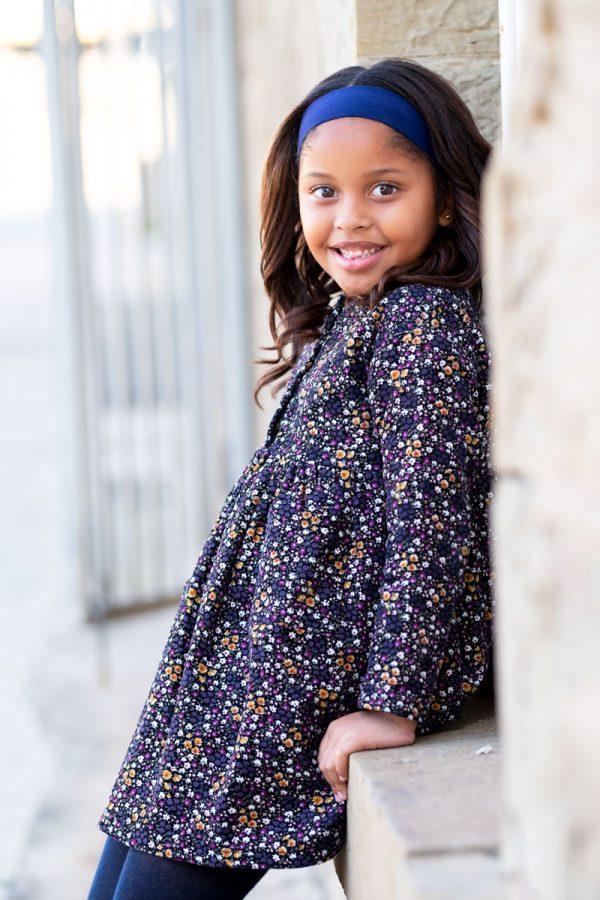 Punanki Kids Clothing Girls Blossom Corduroy Dress
