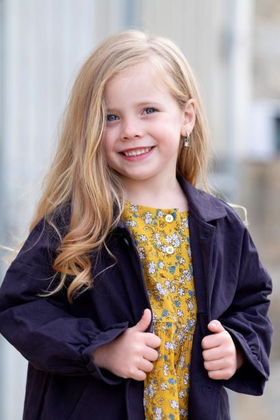 Punanki Kids Clothing All Navy Winter Coat