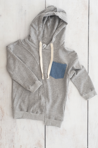 Punanki Kids Clothing Boys Blue & Grey Hoodies