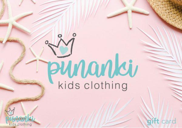 Punanki Kids Clothing Gift Card Punanki