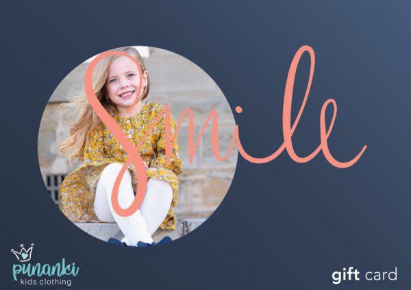 Punanki Kids Clothing Gift Card Smile