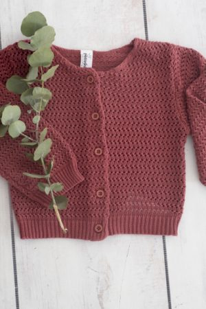 Red Knitted Jersey