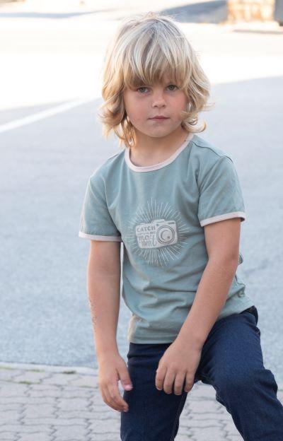 Punanki Kids Clothing Boys Catch the Moment Tshirt
