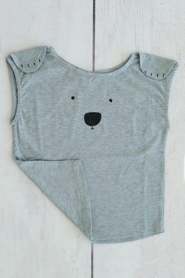Punanki Kids Clothing Girls Teddy Bear T's