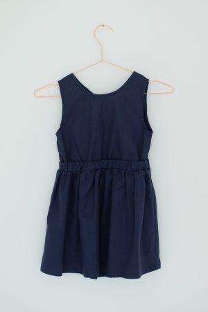 Punanki Kids Clothing Girls Navy dress