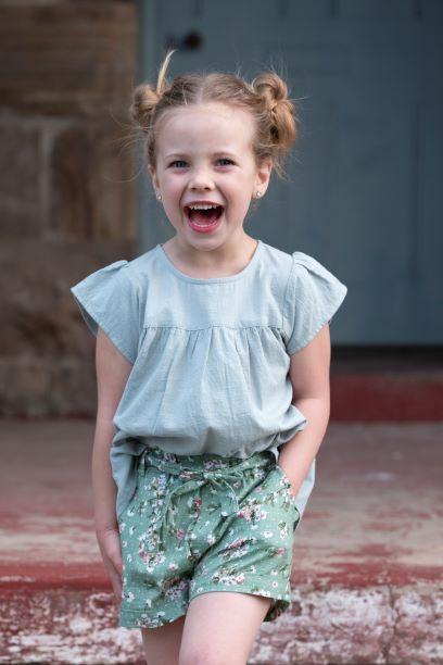 Punanki Kids Clothing Girls D/Egg Blouse