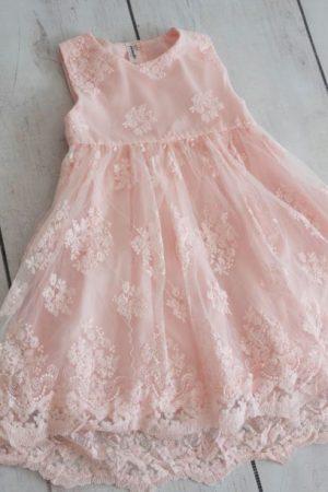 Punanki Kids Clothing Girls Pink Formal Dress