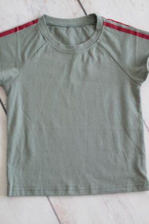 Punanki Kids Clothing Boys Green/red Tshirt Boys