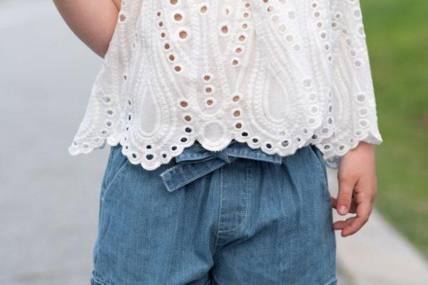 Punanki Kids Clothing Girls Vintage Lace