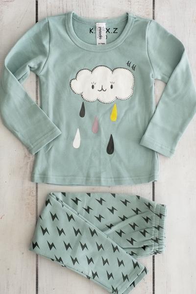 Punanki Kids Clothing WINTER COLLECTION Cloud Pajamas