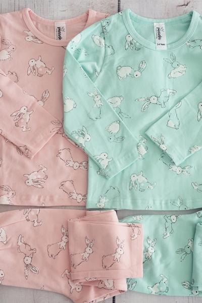 Punanki Kids Clothing WINTER COLLECTION Bunny Pajamas